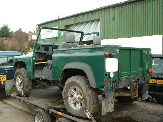 land rover 90 salvage